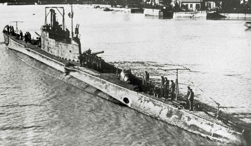 Подводная лодка «Giuseppe Finci»