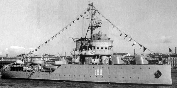 Канонерская лодка «Красное Знамя» (Храбрый)