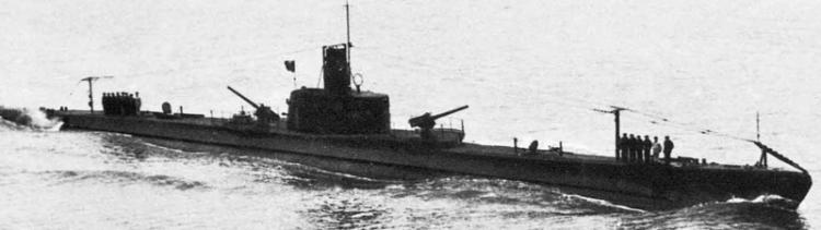 Подводная лодка «Comandante Faà di Bruno»