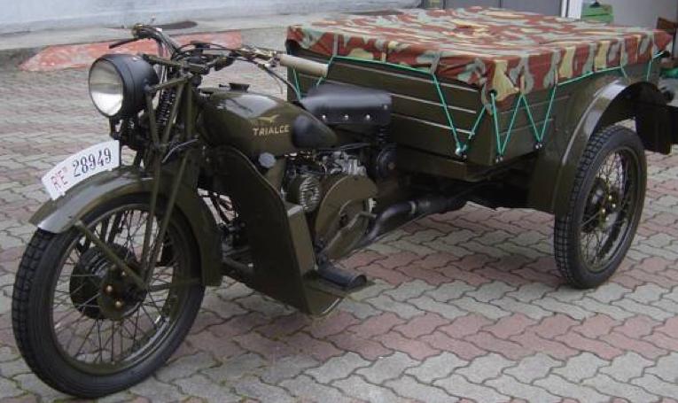 Трицикл Guzzi 500 TriАlce