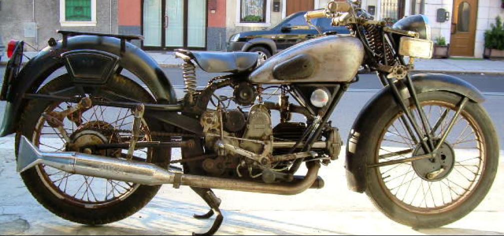 Moтоцикл Guzzi 500-GTV