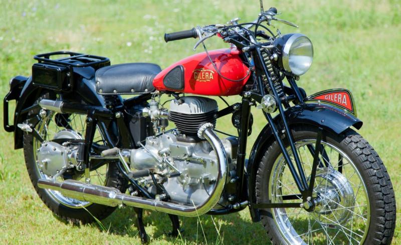 Мотоцикл Gilera Marte (solo)