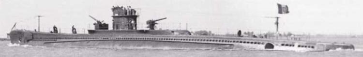 Подводная лодка «Ammiraglio Millo»