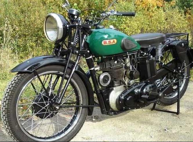 Мотоцикл BSA В-22