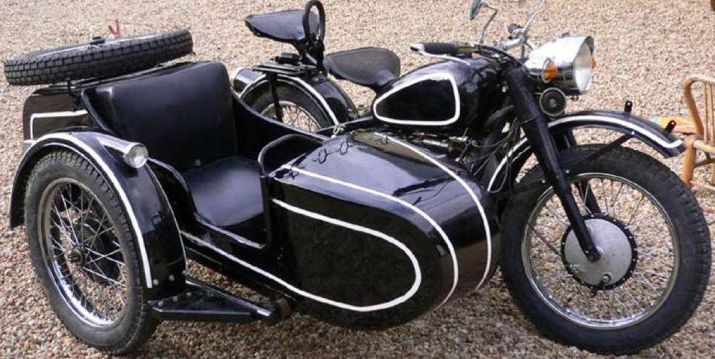 Мотоцикл BMW R-71 с коляской