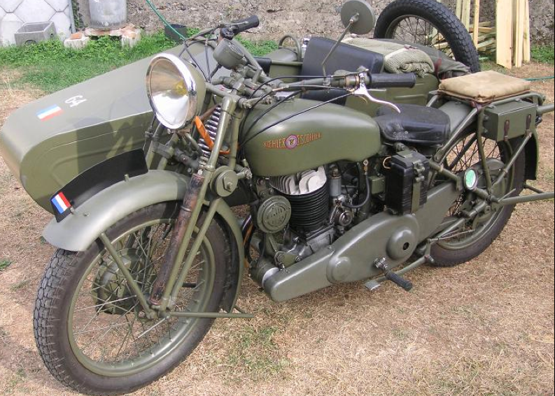 Мотоцикл Monet-Goyon L-5А1 с коляской