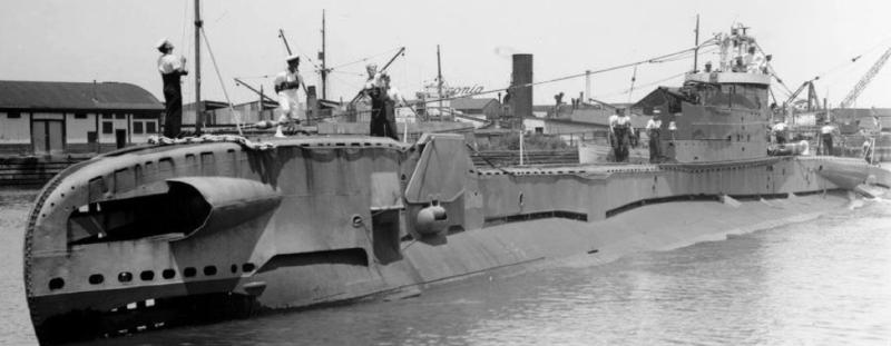 Подводная лодка «Telemachus»