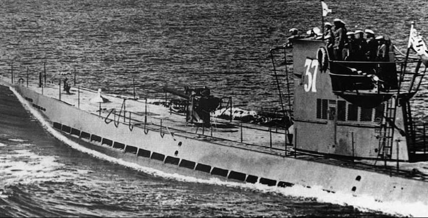 Подводная лодка «U-37»