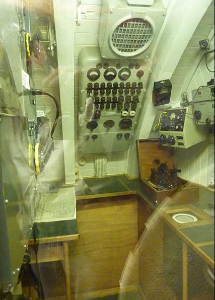 Радиорубка лодки «U-995»