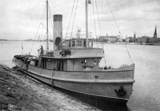 Сторожевой корабль «Уран» (Varonis)