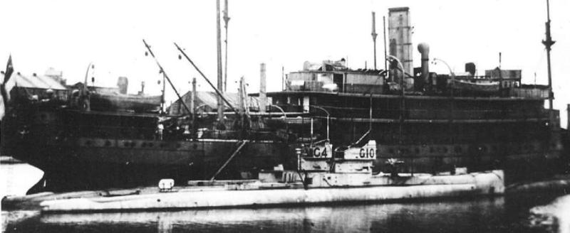 Плавбаза подводных лодок Titania (F-32)