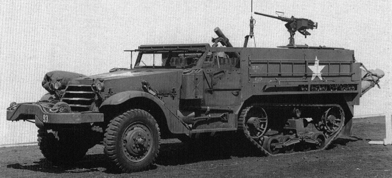 Самоходный миномет M-21 Mortar Motor Carriage