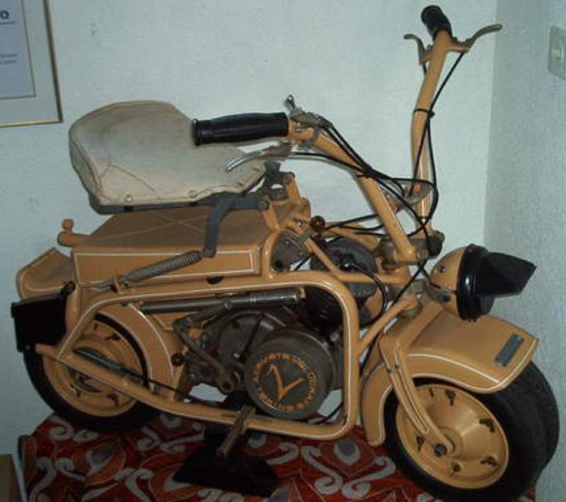Мотоцикл Volugrafo Aermoto 125