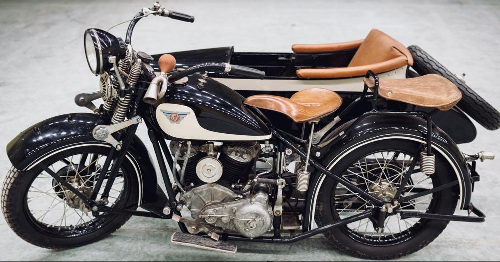Мотоцикл Sokоł 1000 (M-111) с коляской
