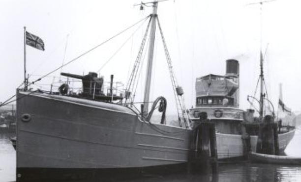 Сторожевой корабль «Boyne»