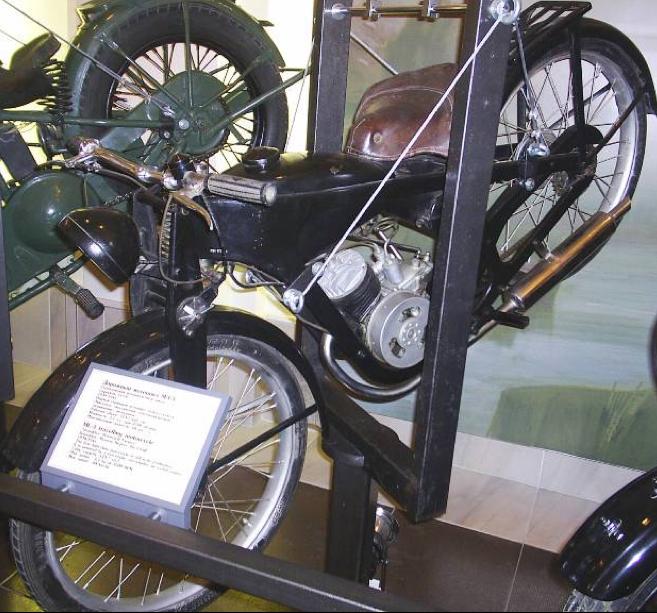 Мотоцикл МЛ-3