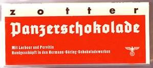 Шоколад «Panzerschokolade».