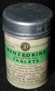 Бензедрин в таблетках.