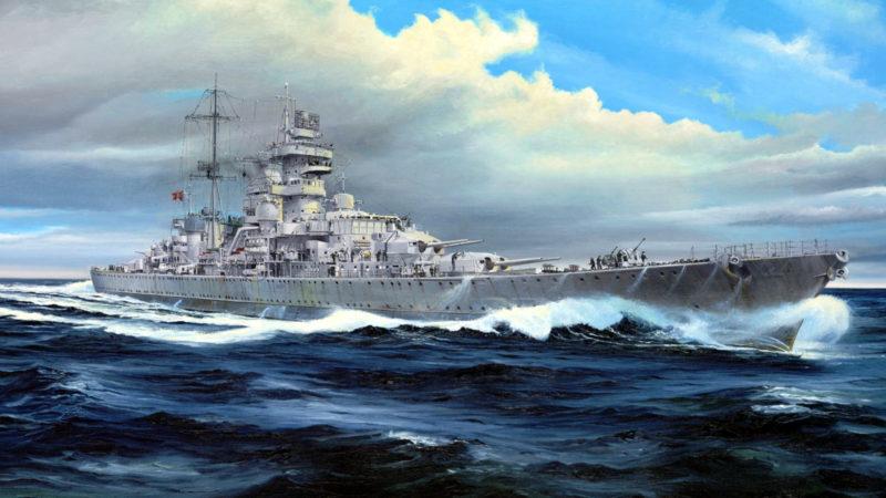 Frka Danijel. Линкор «Prinz Eugen».