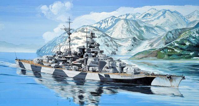 Frka Danijel. Линкор «Tirpitz».