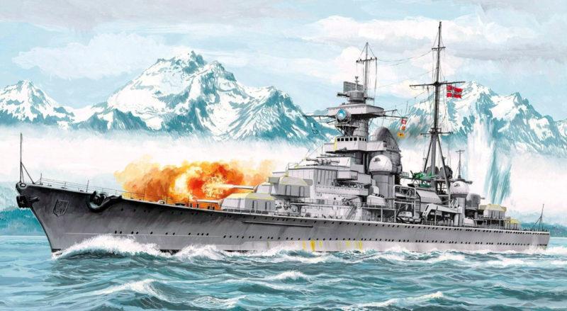 Frka Danijel. Тяжелый крейсер «Blucher».