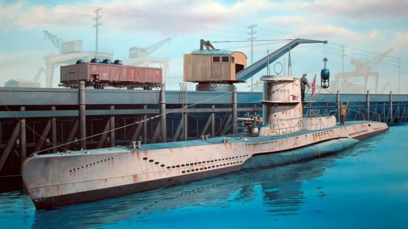 Frka Danijel. Подлодка-миноносец U-213.