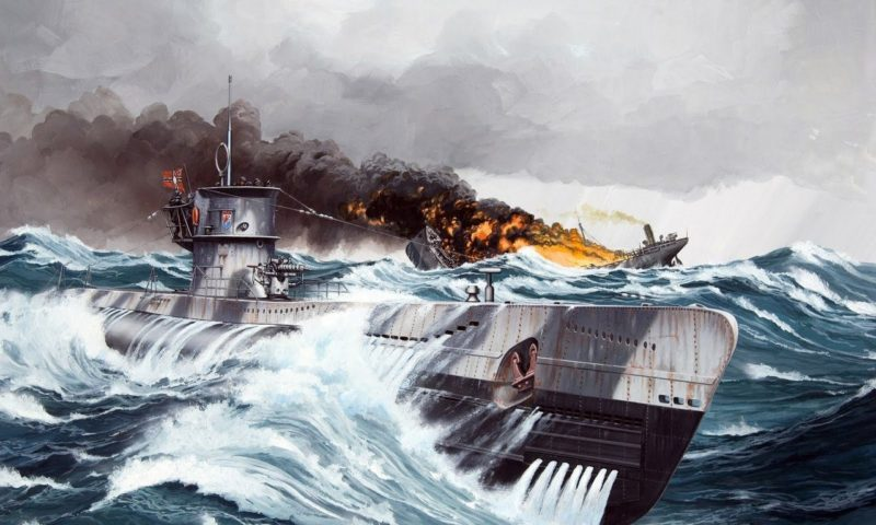 Frka Danijel. Подлодка U-201.