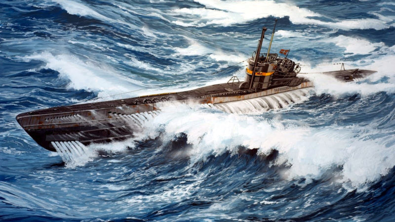 Frka Danijel. Подлодка U-1004.