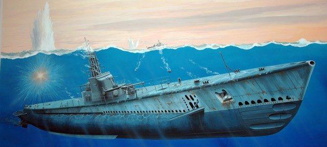 Frka Danijel. Подлодка Gato SS-212.