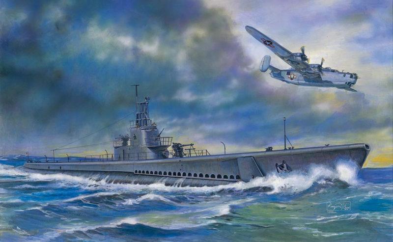 Frka Danijel. Подлодка Dace SS-247.
