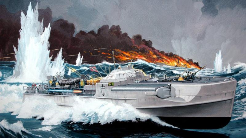 Frka Danijel. Schnellboot S-100 с зенитным орудием Flak 38.