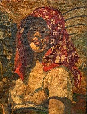 Портрет Шарлотт Лобжуа, выполненный А.Гитлером 05.10.1916 г.