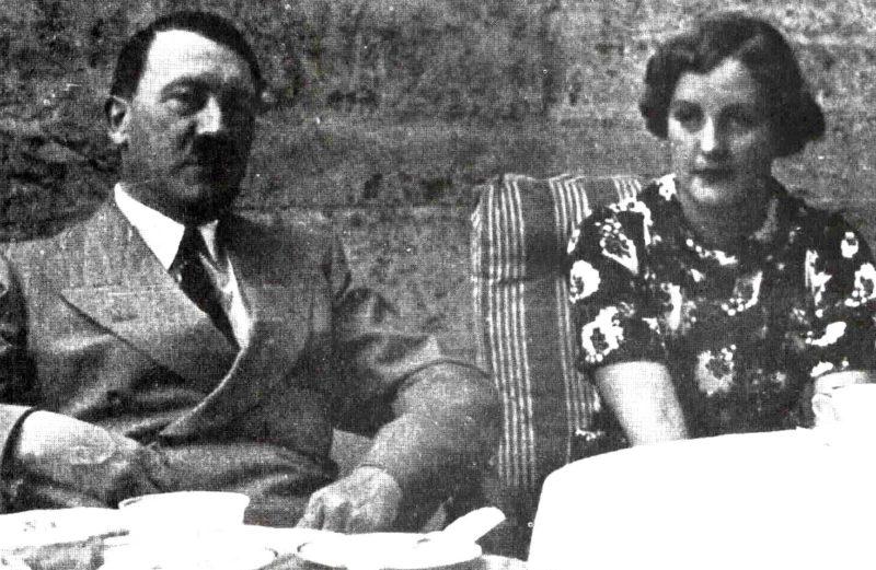 Адольф Гитлер и Юнити Митфорд