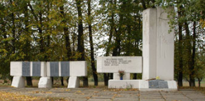 с. Гонтов Яр Валковского р-на. Памятник установлено на братской могиле, в которой похоронено 129 воинов, погибших в боях за село. У памятника размещен памятный знак погибшим на войне односельчанам
