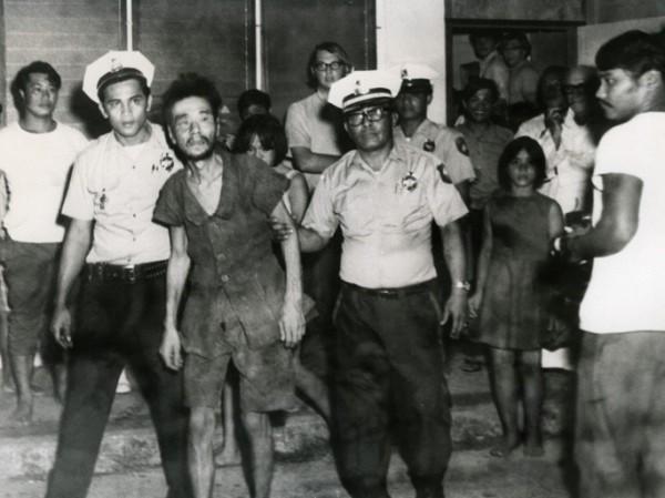 Исторический момент передачи «партизана» японским властям в 1972 г