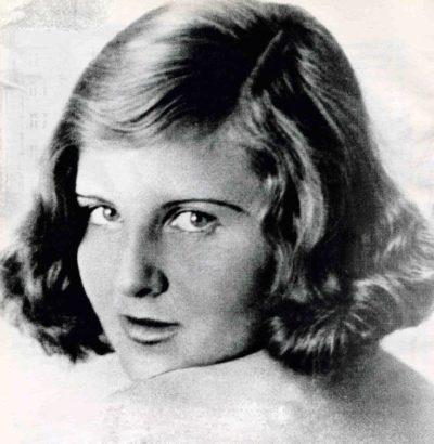 Ева Браун. 1930 г.