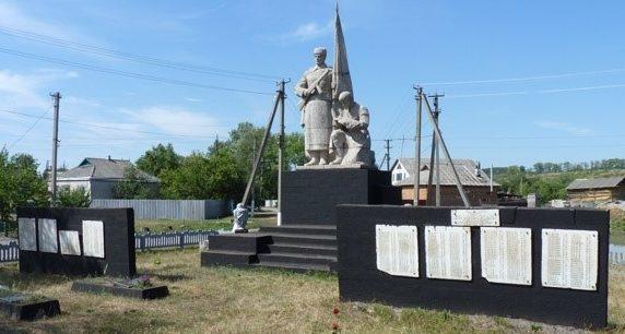 с. Чернещина Зачепиловского р-на. Памятник в центре села, установлен у братских могил, в которых похоронено 18 воинов, в т.ч. 15 неизвестных. На стеле увековечены имена односельчан, погибших в годы войны.