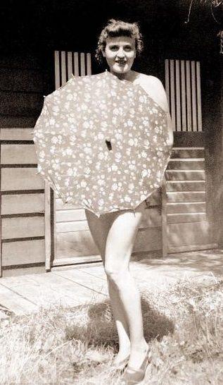 Ева Браун. 1940 г.