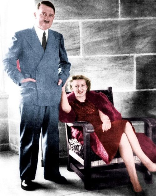 Адольф Гитлер и Ева Браун