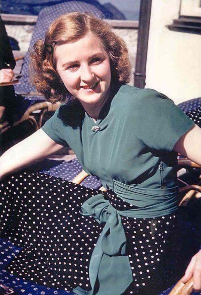 Ева Браун. 1944 г.