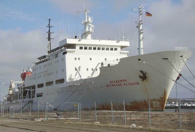 Корабль «Академик Мстислав Келдыш»