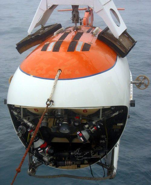 Глубоководный аппарат «Мир» с предельной глубиной погружения 6000 м
