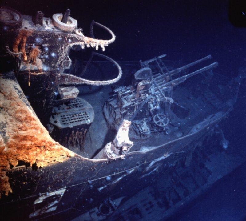 Фотографии «I-52» в морской пучине