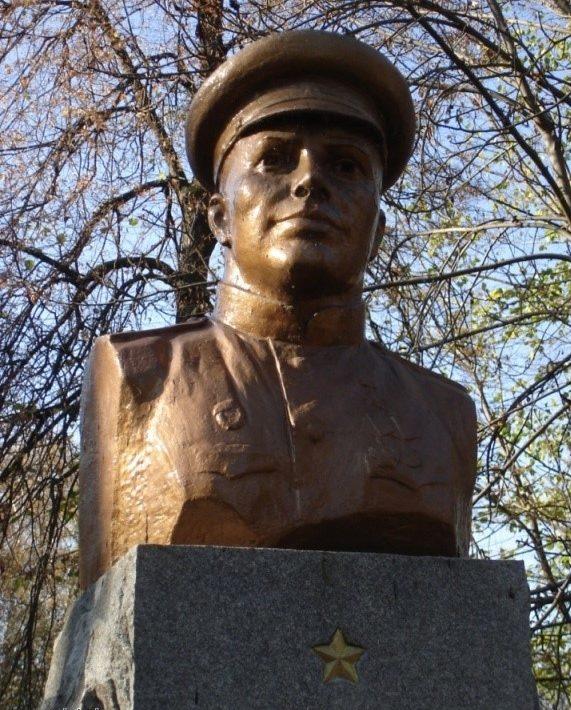 Бюст Героя Советского Союза Шемигона Алексея Родионовича