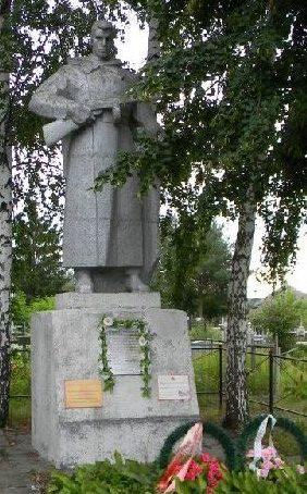 с. Шелкоплясы Дергачёвского р-на. Памятник на сельском кладбище, установлен на братской могиле, в которой похоронено 26 воинов, погибших в боях за село
