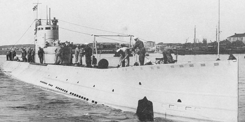 Подводная лодка «Л-4» (Гарибальдиец)