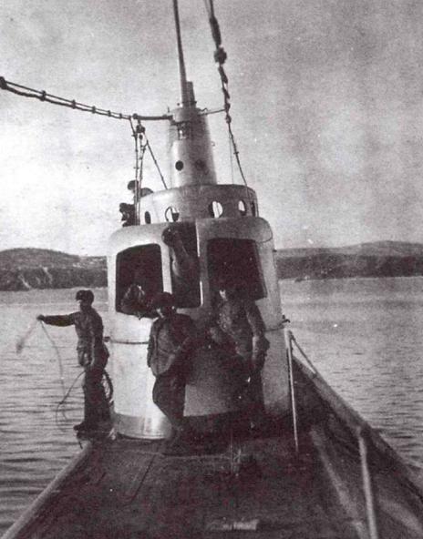 Подводная лодка «Л-8»