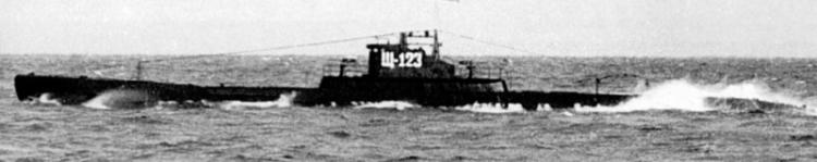 Подводная лодка «Щ-123» (Палтус)