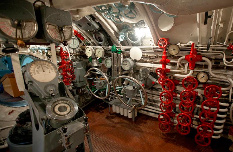 Центральный пост лодки «С-56»