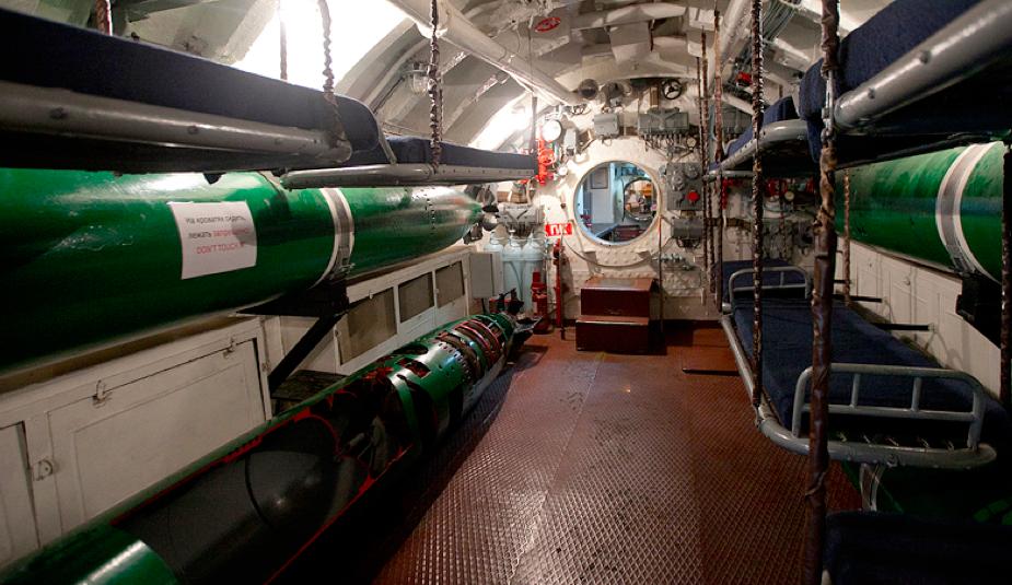 Торпедный отсек лодки «С-56»